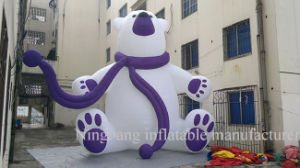 New Product Inflatable Polar Bear for Decoration