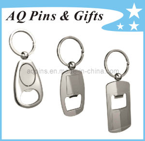 Zinc Alloy Blank Bottle Opener Key Chain pictures & photos