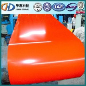 Brick Grain Pattern PPGI Prepainted Steel Coil with Best Quality pictures & photos
