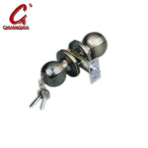 Furniture Hardware Brass Ball Knob Door Lock pictures & photos