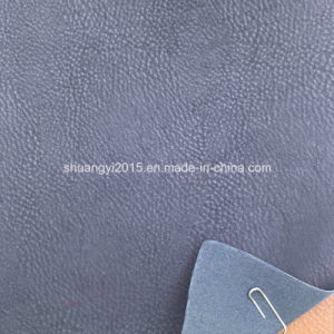 2015 New Fashion PU Artificial Leather for Shoes, Bags pictures & photos