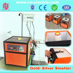 0.5~4kg Crucible Type Gold Smelting Furnace pictures & photos
