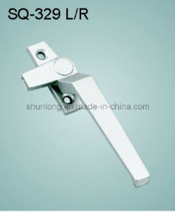 Zinc Alloy Handle for Windows/Doors Hardware (SQ-329 L/R)