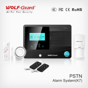 New Auto Security System Wireless Fire Controlling Alarm Control System PSTN for Home Security Yl-007k7 pictures & photos