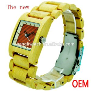 Hot Sell Wood Watch, Best Quality Wooden Watches (Ja15094)