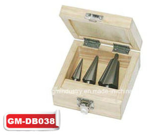 3PCS HSS Conical Drill Set (GM-dB038) pictures & photos