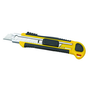 Auto-Loading Cutter Knife with Sharpner (NC291) pictures & photos