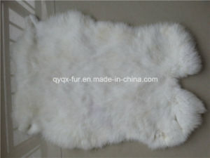 2015 Hot Selling Real Rabbit Fur Skin for Home Decoration