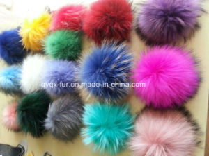 Wholesale Raccoon Fur POM Poms