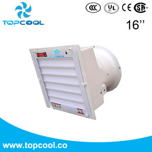 "Compact Axial Flow Fan Side Wall Exhaust Fan Gfrp 16"" Greenhouse Equipment pictures & photos"