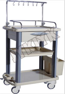 ABS Medical IV Treatment Trolley pictures & photos