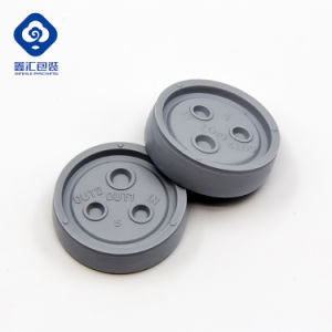Polyisoprene Rubber Disc for Pull-off Infusion Bottle Euro Cap