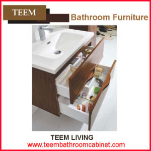 Modern Style and No Include Faucet Customized Tempered Bathroom Vanity pictures & photos