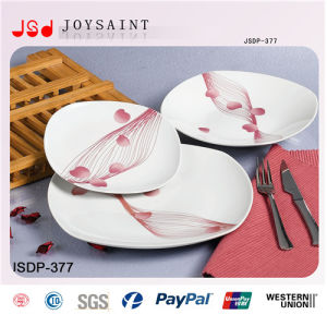 Customized Dinner Set in Squared Shape