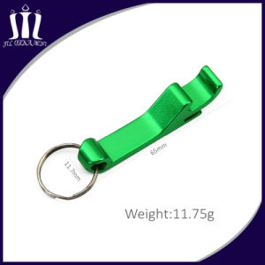 High Quality Metal Beer Bottle Opener with Keychain pictures & photos