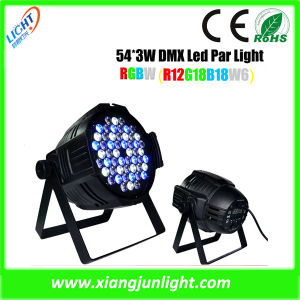 Indoor 54X3w RGBW LED PAR Can Light pictures & photos