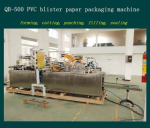 Daily Commodity Tray and Paper Packing Machine
