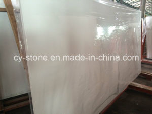 Cheap Pure White Quartz/Artificial Stone/Engineered Stone for Wall/Floor/Countertop
