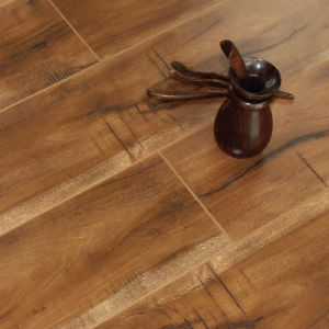 New Designs E. I. R Surface Laminate Flooring with V-Groove - S005#