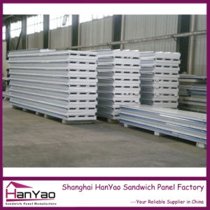 Thermal Insulation Galvanized Steel EPS Sandwich Roofing Panel pictures & photos