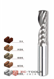 Wood Router Drill Bit Solid Carbide Router Tool Bits Single Flute Router Bit