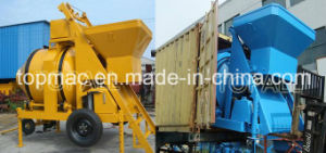 Topmac Brand China Diesel Concrete Mixer with Sliding Hopper pictures & photos