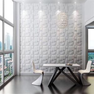 Wall Art Decor 3D PVC Wall Covering for Home Interior