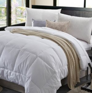 Cheap Factory White King Size Quilt
