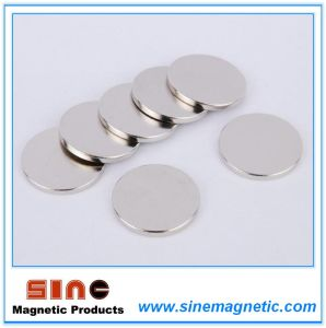 Strong Permanent Neodymium Magnet N35 Disk 10*1 pictures & photos