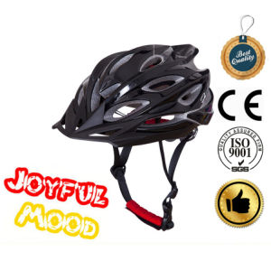 Black Satefy Bike Helmet Mountain Bicycle Helmet