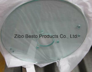 10mm Thick Round Mirror Glass Cutting and Polishing