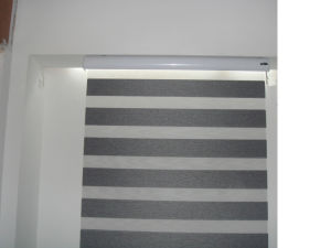 Zebra Sheer Fabric Roller Blind Blackout Patterned for Sunshade pictures & photos