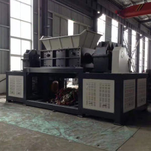 Double-Shaft Shredder Machine for Crushing Rubber