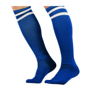 Custom Cheap Mens Sports Rugby Soccer Football Socks Footwear for Sale pictures & photos