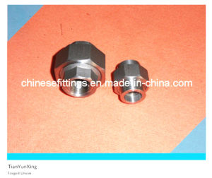 ANSI Forged Pipe Fittings Stainless/Carbon Steel Union pictures & photos