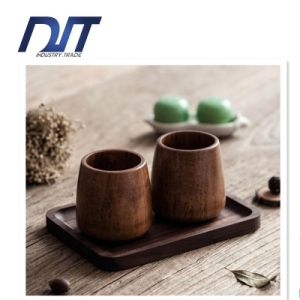 Factory Direct Custom Logo Food Safe Wood Tea Cup