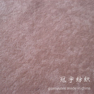Home Textile Speckled Pile Velvet Alova Fabric pictures & photos