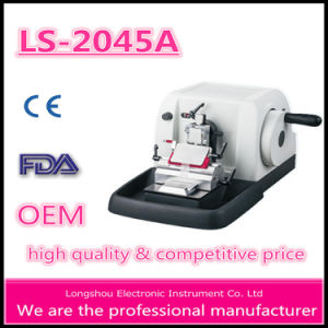 Longshou High-Precision Semi Auto Paraffin Microtome Ls-2045A pictures & photos