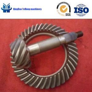 BS3900 Helical Bevel Gear for Truck Gear Ratio 11/41 Spiral Bevel Gear  Differential Gear