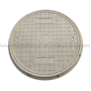 En124 Excellent Aging Resistance Composite Round Manhole Cover with Frame pictures & photos