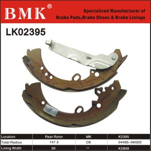 Environment-Friendly Brake Shoes (K2395 / K2809) pictures & photos