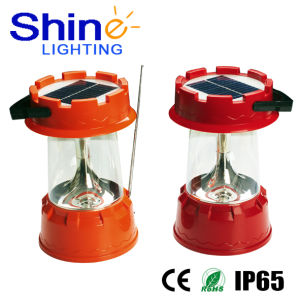Solar Camping Lantern with Mobile Charger pictures & photos
