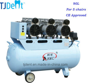 Ce Approved Powerful 90L Dental Air Compressor (TJ-180/90) pictures & photos