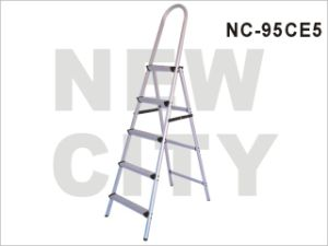Household/Constructionaluminum-Alloy Ladder, 5 Steps SGS (NC-95CE5)