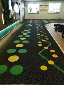 Printing Rubber Flooring Optional Printing Your Logo pictures & photos