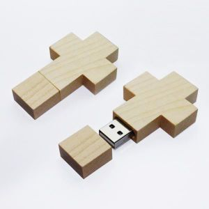 Wooden USB Stick USB Flash Drive (WD-19) pictures & photos