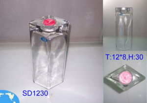 Clear Glass Candle Holders (ZT-36) pictures & photos