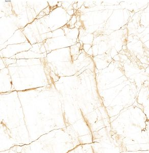 White Glazed Polished Porcelain Tile Pl-PU6016 with CE Mark pictures & photos
