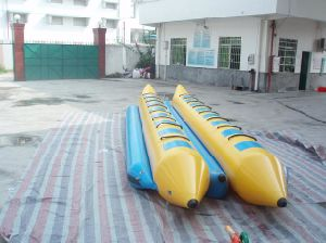 1.0mm PVC/TPU Inflatable Banana Boat Inflatable Fly Fish Banana Boat Inflatable Banana Tube Boat pictures & photos
