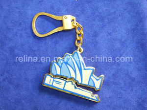 Custom Metal Key Rings/Leather Keyrings/Key Holder (KC-22)